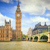 每年游览次数最多的城市: 每年有 1868 万国际游客游览伦敦,创造的193亿美元的收入。