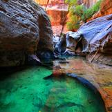 美国西部之旅 美国锡安国家公园