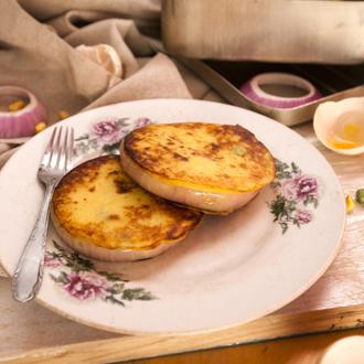 让土豆泥变身健康早餐饼——土豆糯米饼