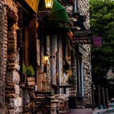 法國昂蒂布,黃昏。 #街道# #美景#