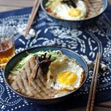 自制午餐肉,无色素无香精无防腐剂,早上煮了碗蔬菜米粉,煎几片放上去再加个蛋,美味又营养的元气早餐