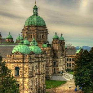 不列颠哥伦比亚省立法机关或议会。加拿大